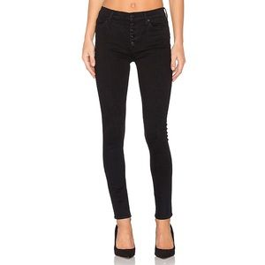 Hudson Ciara High Rise Skinny Button Fly Jeans
